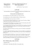 Quyết định số 04/2019/QĐ-UBND tỉnh KiênGiang