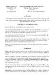 Quyết định số 992/2019/QĐ-UBND tỉnh HưngYên