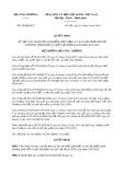 Quyết định số 920/2019/QĐ-BCT