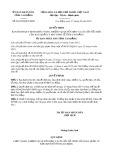 Quyết định số 05/2019/QĐ-UBND tỉnh CaoBằng