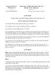 Quyết định số 04/2019/QĐ-UBND tỉnh HàNam