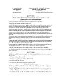 Quyết định số 438/2019/QĐ-UBND tỉnh Ninh Bình