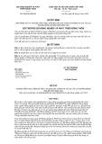 Quyết định số 816/2019/QĐ-BNN-KH