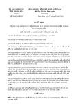 Quyết định số 701/2019/QĐ-UBND tỉnh ThanhHóa