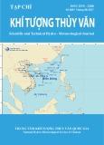 Tạp chí Khí tượng thủy văn: Số 680/2017