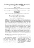 Uncertainty quantification of RELAP5/MOD3.3 for interfacial shear stress during small break LOCA