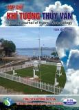 Tạp chí Khí tượng thủy văn: Số 689/2018