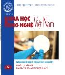 Tạp chí Khoa học và Công nghệ Việt Nam – Số 3A năm 2019