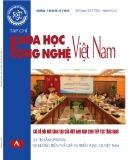 Tạp chí Khoa học và Công nghệ Việt Nam - Số 8A năm 2019