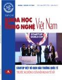 Tạp chí Khoa học và Công nghệ Việt Nam số 6A năm 2019