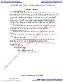 Chuyên đề Hóa học THPT nâng cao: Hiện tượng chuyển vị trong phản ứng hữu cơ