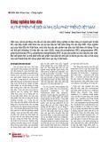 Công nghiệp hóa dầu: Xu thế trên thế giới và nhu cầu phát triển ở Việt Nam