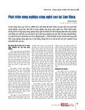 Phát triển nông nghiệp công nghệ cao tại Lâm Đồng