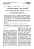 On the role of boride in the structural integrity of a turbine disc superalloy's solid state weld