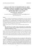 Khảo sát một số yếu tố ảnh hưởng đến quá trình nuôi trồng vi khuẩn lam Spirulina platensis sử dụng nước thải chăn nuôi heo sau biogas theo phương pháp thủy canh cải tiến