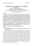 Nghề thổ cẩm trong đời sống của người Ê Đê ở Đắk Nông