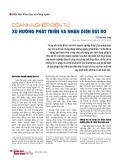Doanh nghiệp điện tử: Xu hướng phát triển và nhận diện rủi ro