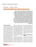Bà Rịa - Vũng Tàu: Ứng dụng tiến bộ KH&CN nuôi cá Chình theo hướng bền vững