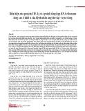 Biểu hiện của protein TIF-IA và sự sinh tổng hợp RNA ribosome tăng cao ở khối u của bệnh nhân ung thư đại - trực tràng