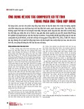 Ứng dụng hệ xúc tác Composite có từ tính trong phản ứng tổng hợp Imine