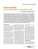 Nền kinh tế số của Việt Nam: Kịch bản phát triển và hành động cụ thể