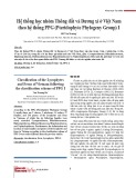 Hệ thống học nhóm Thông đất và Dương xỉ ở Việt Nam theo hệ thống PPG (Pteridophyte Phylogeny Group) I