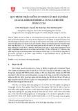 Quy trình nhân giống in vitro cây keo lá tràm (Acacia auriculiformis A. Cunn. ex Benth) dòng CLT43