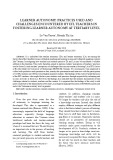 Learner autonomy: Practices used and challenges encountered by EFL teachers in fostering learner autonomy at tertiary level