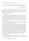 Ngôn ngữ và kỹ thuật ghi chép trong phiên dịch