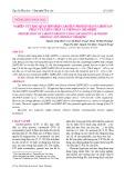 Nghiên cứu bảo quản hỗn hợp caroten protein bằng chiotsan phân tử lượng thấp và chitosan chloride