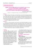 Nghiên cứu đặc điểm sinh sản của sò huyết Anadara granosa ở vùng cửa sông Ròon, tỉnh Quảng Bình
