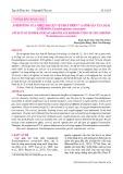 Ảnh hưởng của nhiệt độ lên sự phát triển và sinh sản của loài Copepoda Pseudodiaptomus annandalei