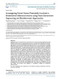 Investigating novel genes potentially involved in endometrial adenocarcinoma using next-generation sequencing and bioinformatic approaches