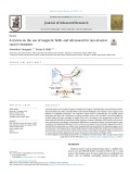 A review on the use of magnetic fields and ultrasound for non-invasive cancer treatment