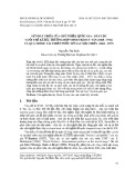 Sự phát triển của chủ nghĩa quốc gia - dân tộc cuối thế kỉ XIX: Trường hợp Minh Trị duy tân (1868-1912) và quá trình tái thiết nước Mỹ sau nội chiến (1863-1877)