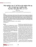 Một nghiên cứu về chế độ trách nhiệm dân sự đối với thiệt hại ô nhiễm dầu: Sự khác biệt giữa OPA và CLC