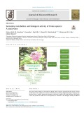 Secondary metabolites and biological activity of Pentas species: A minireview