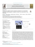 Probing the complex thermo-mechanical properties of a 3D-printed polylactide-hydroxyapatite composite using in situ synchrotron X-ray scattering