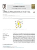 Arachidonic acid and other unsaturated fatty acids and some of their metabolites function as endogenous antimicrobial molecules: A review