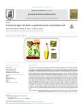 A review on algae and plants as potential source of arachidonic acid