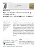 Repair bond strength of dual-cured resin composite core buildup materials