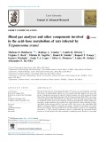 Blood gas analyses and other components involved in the acid–base metabolism of rats infected by Trypanosoma evansi