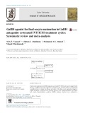 GnRH agonist for final oocyte maturation in GnRH antagonist co-treated IVF/ICSI treatment cycles: Systematic review and meta-analysis