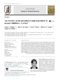 An overview on the potential of natural products as ureases inhibitors: A review