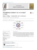Mesothelioma treatment: Are we on target? A review