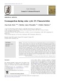 Geomagnetism during solar cycle 23: Characteristics