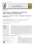 Neurotoxicity of 1-bromopropane: Evidence from animal experiments and human studies