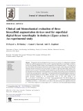 Clinical and biomechanical evaluation of three bioscaffold augmentation devices used for superficial digital flexor tenorrhaphy in donkeys (Equus asinus): An experimental study