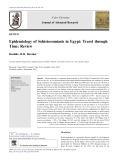 Epidemiology of Schistosomiasis in Egypt: Travel through Time: Review