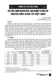 Cấu trúc nhóm ngành Nông, lâm nghiệp và thủy sản trong nền kinh tế Việt Nam